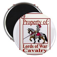dog cavalry Magnet