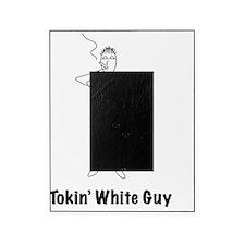 white_guy_black Picture Frame