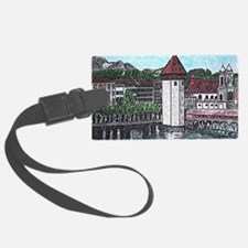 lucerne small print Luggage Tag