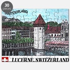 lucerne small print Puzzle
