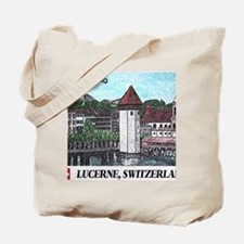 lucerne small print Tote Bag