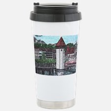lucerne small print Travel Mug