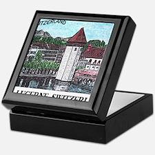 lucerne small print Keepsake Box