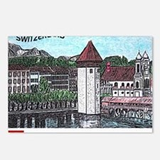 lucerne small print Postcards (Package of 8)