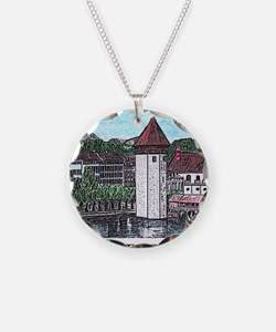 lucerne small print Necklace