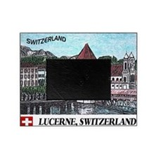 lucerne small print Picture Frame