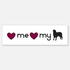 Love My Berner Bumper Bumper Bumper Sticker