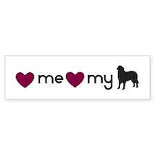 Love My Berner Bumper Bumper Sticker