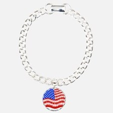 can_flag_large_black Bracelet