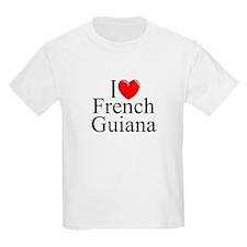 """I Lone French Guiana"" Kids T-Shirt"