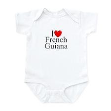 """I Lone French Guiana"" Infant Bodysuit"