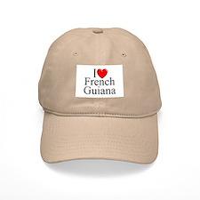 """""""I Lone French Guiana"""" Baseball Cap"""