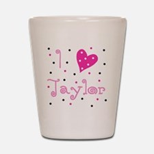 i_luv_taylor Shot Glass