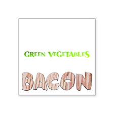 """BACONE Square Sticker 3"""" x 3"""""""