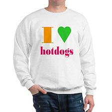 hotdogs Sweatshirt
