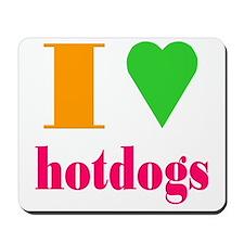 hotdogs Mousepad