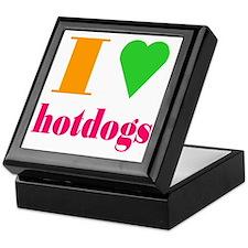 hotdogs Keepsake Box