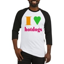 hotdogs Baseball Jersey