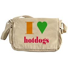 hotdogs Messenger Bag