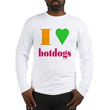 hotdogs Long Sleeve T-Shirt