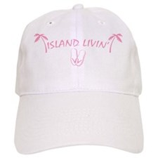 IslandLivin_Flops_Pink (3.gif Baseball Cap