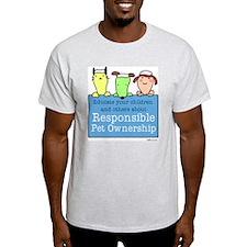 Educate Ash Grey T-Shirt