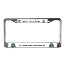 Funny Womans License Plate Frame