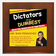 3-DictatorDummy Framed Tile