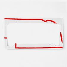 Nebraska_Outline License Plate Holder