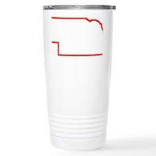 Nebraska_Outline Travel Mug