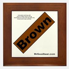 brownback Framed Tile
