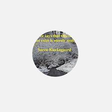 Soren Kierkegaard Mini Button