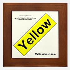 yellowfront Framed Tile
