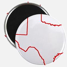 Texas_Outline Magnet