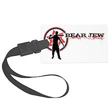 Bear Jew Luggage Tag