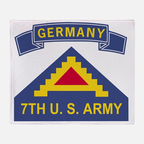 Army-7th-Army-Germany-Bonnie Throw Blanket