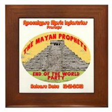 Rev-MayanProphetEnd Framed Tile