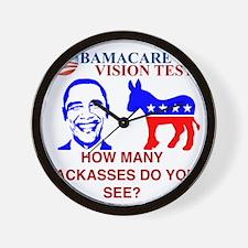Obama Care Wall Clock