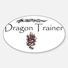 DragonTrainer-2 Sticker (Oval)