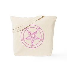 baphomet-pink Tote Bag