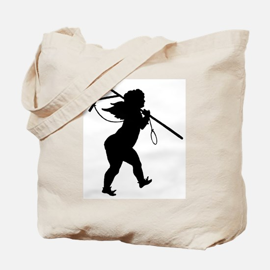 Cupid Meets Reality Tote Bag