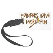 campers fun Luggage Tag