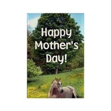 Mothers Day Card Rectangle Magnet