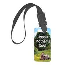 Mothers Day Card Luggage Tag