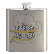 biggestBoozerTEE Flask