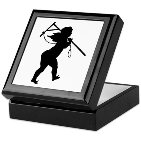 Cupid Meets Reality Keepsake Box