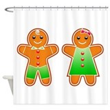 Gingerbread Shower Curtains