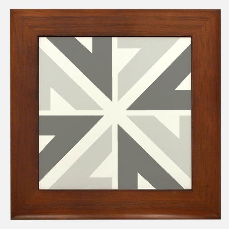 New Zealand NZ ZN Framed Tile