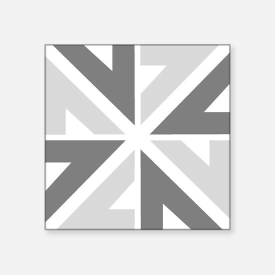 """New Zealand NZ ZN Square Sticker 3"""" x 3"""""""