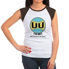 2-UUW_logo_world_domina Women's Cap Sleeve T-Shirt